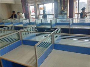 公司誠意轉讓99成新辦公桌椅,可以送貨