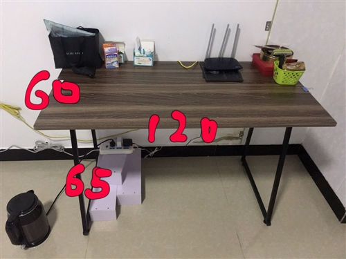 组装课桌 长120cm ,宽60cm,高65cm,9成新 江店,金润广场,自提。