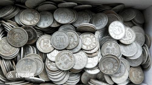 分硬币一分二分五百多个,