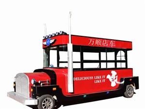 厂家销售电动餐车小吃车宣传车