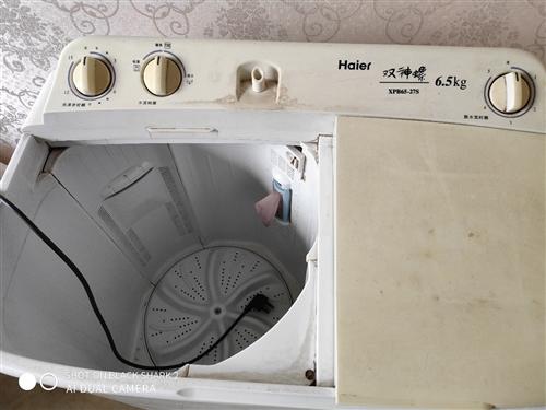 二手半自动洗衣机,换全自动,现闲置转让