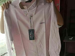 清仓处理换季休闲衬衣西服夹克裤子,都是全新,总数大概八百多件套,有需要的联系