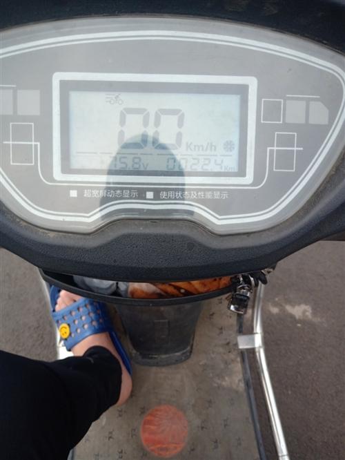 珠峰电动车72v,目前电池还能跑30多公里,需要来白菜价出了