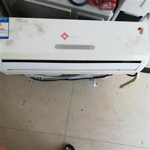 1200元出原�装海尔1.5匹冷⌒ 暖两用变频空调包安装