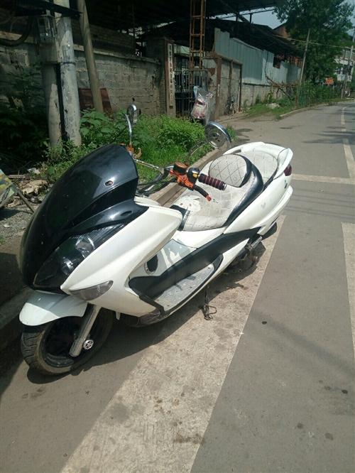 150CC 踏板摩托车,遥控电子一键打火,电子防盗!