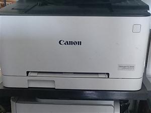 激光黑白打印机1200元,佳能彩色打印机1800元。机子9.9成新,打印不足1500页。