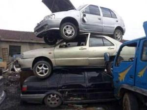 高价回收报废汽车报废铲车  电话15393261598  同微信