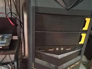 主机配置  四代. cpu i3处理器    内存4g  硬盘西数500g   技嘉主板   独显2...