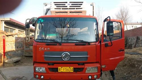 13年6.8米冷藏廂式貨車出售,沒跑多少路,基本閑置(國三排放標準)