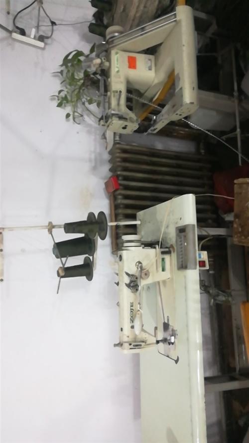 中捷电脑缝纫机8成新,还有锁边机,包缝机出售,曲腕机出售,这是缝纫机班组的正在用,挺好使的,因有事忍...