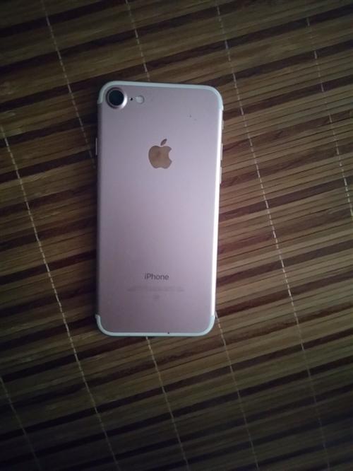 苹果7 玫红色无拆无修,32G的  保护得很好