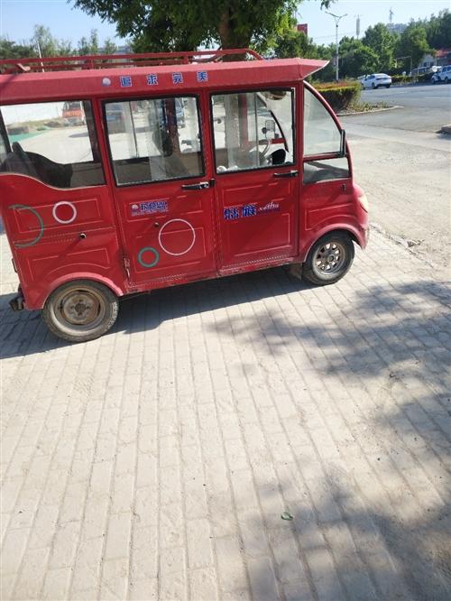 求购一辆这样的三轮电车或者四轮电车,