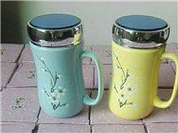 批發價出售全新陶瓷鏡面水杯茶杯420ml。攀枝花城區顧客購買5個及以上免送貨費,以下5元一單。