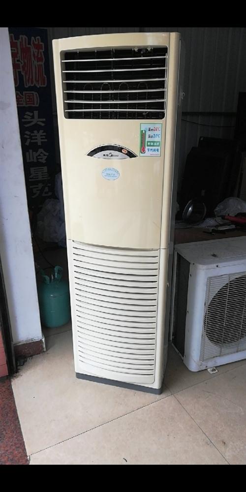 出三匹美的冷暖柜机,使用拆下,包安装,配4米铜管