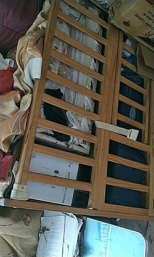 9成新婴儿床