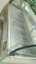 冰牛全铜保鲜展示柜,标准2米,还在售后服务范围,可冷藏,可冷冻,有要的联系,非诚勿扰。