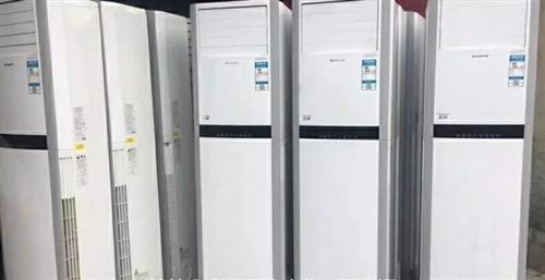常年回收 出售二手空调  拆移  维修   租赁  加冷媒