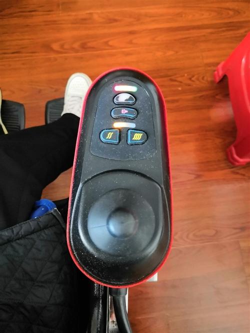 高档电动轮椅一部,9成新,无修无故障,台湾进口涡轮蜗杆电机,动力强劲且静音效果极佳,电子制动刹车系统...