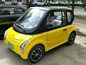 出售二手电动汽车,72付6块电瓶,冷暖空调,方向盘助力,叉车助力都有