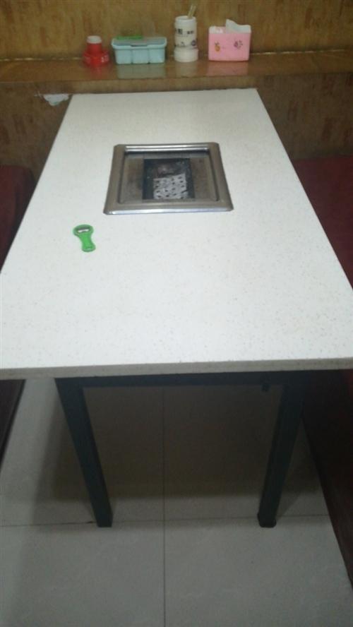 出售燒烤店設備 卡座桌椅板凳 立式展示柜 臥式展示柜 燈具燒烤爐 蝸牛風機 不銹鋼櫥柜 空調 吧臺 ...