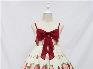 Lolita裙子,L�a,全新�H�穿�^,太甜了不�m合我,原�r出