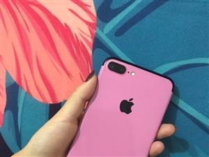 女生自用全网通苹果7plus,一切功能正常无毛病无拆修,送一块苹果6和好几个全新手机壳子