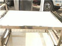 不锈钢架,地面砖方桌