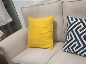 準沙發,從沒有用過,現在打算1300處理掉,有意請聯系15168177107