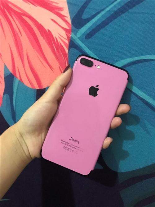 自用媲美新機的全網通7p送可用蘋果6,6解鎖可以插卡打電話,不解也行,可以連藍牙聽酷狗連wifi