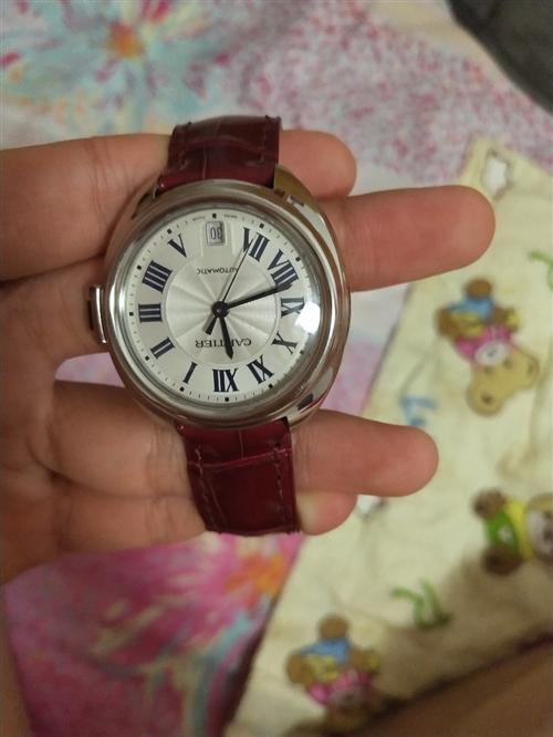 朋友送的卡地亞女士手表,二月份在大衛城買的,當時買的32000元,個人很少帶,因需要用錢低價轉賣,需...