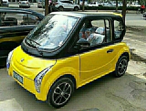 出售电动汽车,72伏6块电瓶带冷暖空调 电话13832325945