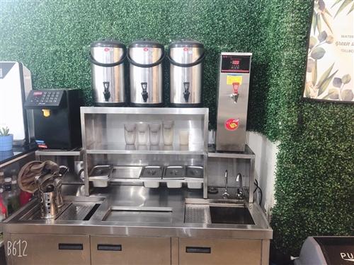 奶茶店不做了设备低价转让 可送小东西 加配方