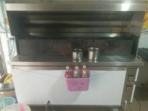 烧烤设备转让  只用了三个月