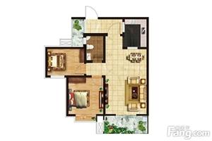 急售盛景华庭8号楼二单元26层楼房一套,84.29平,单价6880