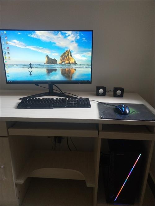 本人剛買一個多月的電腦,因為去外地打算賣了,電腦可以玩任何大型網絡游戲,也可以來家里試機。