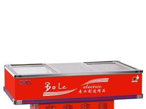 五洲伯乐WUZHOUBOLE 2.18米岛柜商用冰柜展示冷藏保鲜肉点菜柜海鲜配菜柜SWD2180铜管...