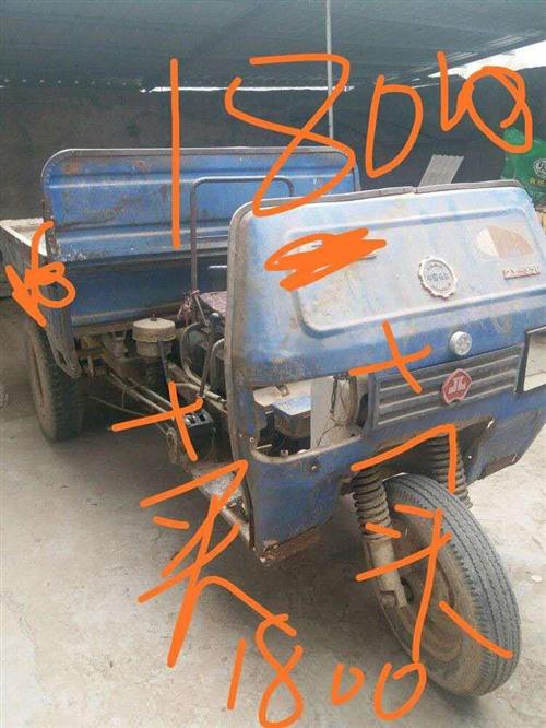 出售农用三轮车带自卸。