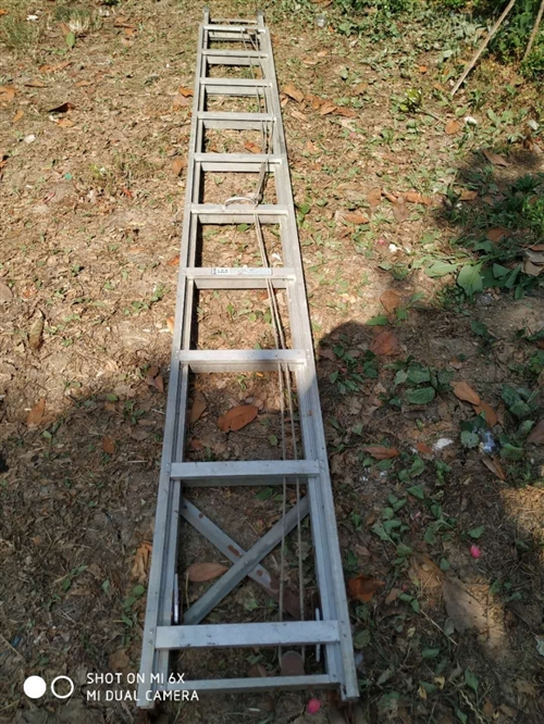 本人出售吕合金伸缩梯一个,能升到7米多高,有需要的联系我。非诚勿扰