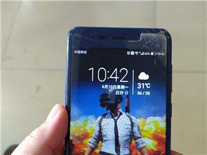 华为荣耀v9play  内存3+32  手机正常没有毛病   屏幕右上角有碎  不影响使用  现在闲...