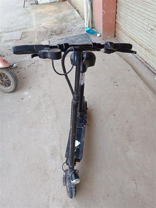 升特牌折叠电动车,骑有一千五百公里,有意出售!