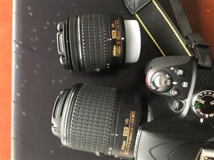 尼康(Nikon) D3300 单反相机 尼康AF-P DX 18-55mm f/3.5-5.6G...