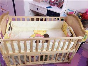 婴儿床九成新,买时489,现在低价出售,非诚勿扰