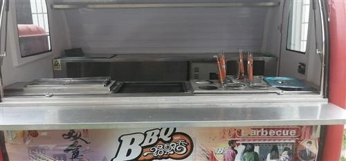 开店出售电动餐车四种功能早点小吃夜宵都能做,自由流动经营自己当老板出门俩小时顶别人三天