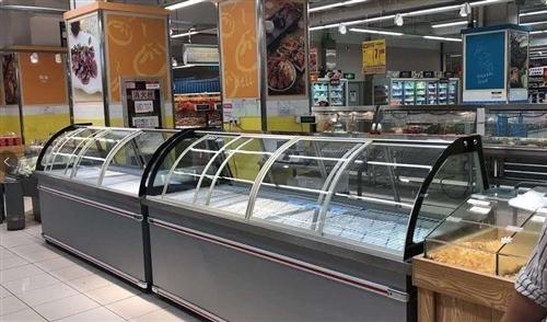 展示柜冷藏柜保鮮冷柜水果保鮮柜商用點菜柜熟食柜冰柜鴨脖柜冷凍  長2.8米 寬0.9米