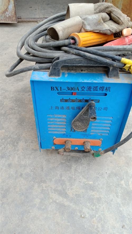 电焊机是300A交流弧焊机,是线圈的不是电路板的不怕烧坏,可连续长时间焊接。使用不超过24小时一手焊...