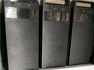 临泉卖二手办公电脑数台,加22寸显示器,配置  h81主板,内存4g,处理器g3260,500g硬盘...