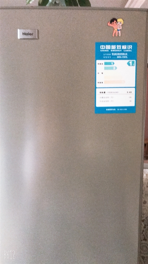 海尔冰箱一台,因为我买了大的冰箱所以想把这台冰箱卖了。