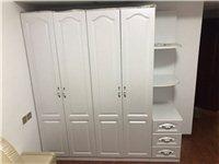 9成新衣柜,床,床垫(穗宝牌),实心出售,价格面议