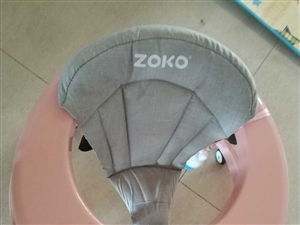 ZOKO寶寶學步車   女兒會走路了放在家里占地方   原價160便宜轉   w517662163微...
