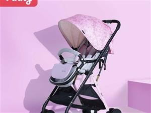 Vinng嬰兒推車可坐可躺輕便折疊   女兒會走路了不愿意做   半價出 家里還有其他寶寶二手用品...